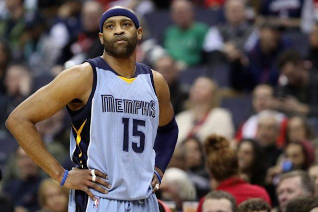 Vince Carter is in his 19th NBA season. (Getty Images)