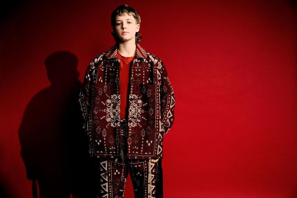 """Flowerkid's new single, """"miss andry,"""" is his first since signing with Atlantic Records. (Photo: Levon Baird/Atlantic Records )"""