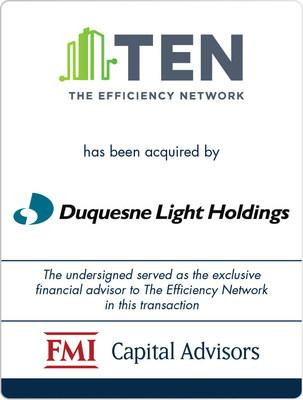FMI Advises The Efficiency Network on Sale to Duquesne Light Holdings