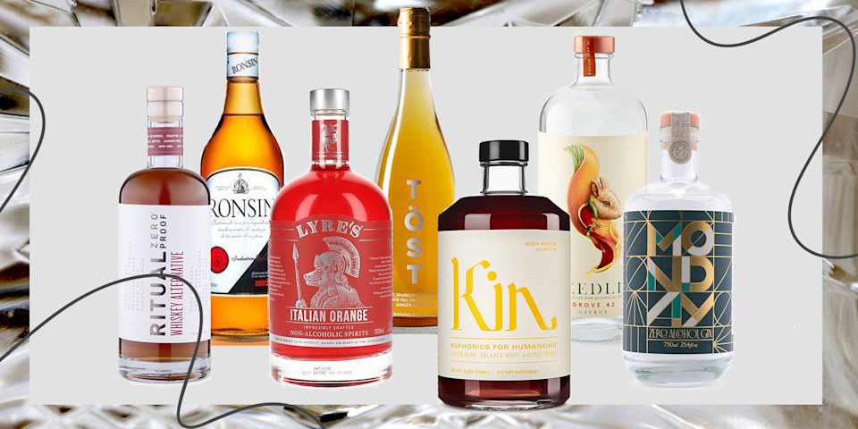 "<p>The beverage industry is making it easier than ever to pour a not-so-stiff one. Today, you can find a booze-free version of pretty much any spirit—<a href=""https://www.delish.com/entertaining/g32176644/best-gin-brands/"" rel=""nofollow noopener"" target=""_blank"" data-ylk=""slk:gin"" class=""link rapid-noclick-resp"">gin</a>, <a href=""https://www.delish.com/entertaining/g30705067/best-whiskey-brands/"" rel=""nofollow noopener"" target=""_blank"" data-ylk=""slk:whiskey"" class=""link rapid-noclick-resp"">whiskey</a>, <a href=""https://www.delish.com/entertaining/g32009640/best-rum-brands/"" rel=""nofollow noopener"" target=""_blank"" data-ylk=""slk:rum"" class=""link rapid-noclick-resp"">rum</a>—plus elixirs meant to lift your mood without the hangover that tends to follow. Whatever your <a href=""https://www.delish.com/food/a30431915/food-trends-2020/"" rel=""nofollow noopener"" target=""_blank"" data-ylk=""slk:reasons for not imbibing"" class=""link rapid-noclick-resp"">reasons for not imbibing</a>, drink in your options below.</p>"