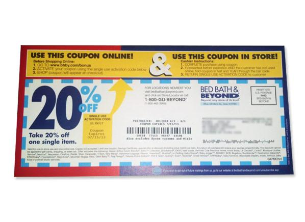 Bed Bath And Beyond Coupon No Sign Up
