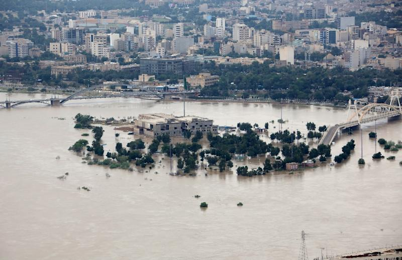 Iran has been hit by what the authorities have called unprecedented flooding