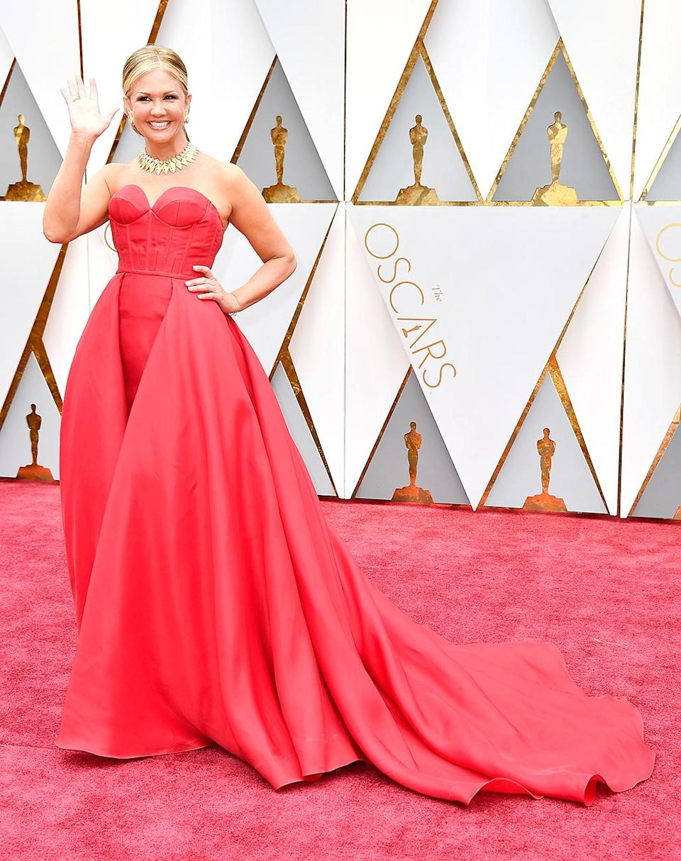 <p>TV personality Nancy O'Dell attends the 89th Annual Academy Awards at Hollywood & Highland Center on February 26, 2017 in Hollywood, California. (Photo by Frazer Harrison/Getty Images) </p>