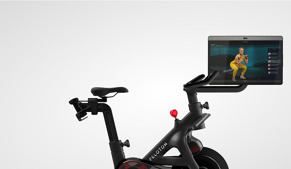 JTF's preferred method for staying fit? The Peloton bike. (Photo: Peloton)