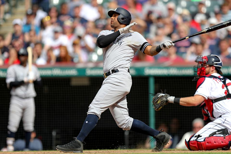 New York Yankees outfielder Aaron Hicks is starting to heat up after a slow start returning from a back injury. (Photo by Frank Jansky/Icon Sportswire via Getty Images)
