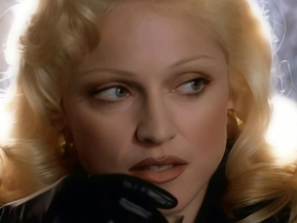 Madonna in the David Fincher-directed music video for 'Bad Girl' (Warner Bros)