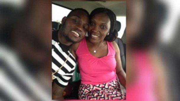 PHOTO: Ahmaud Arbery, 25, with his mother Wanda Jones Cooper. Arbery was killed on Feb. 23, 2020, allegedly by a father and son who accused him of being a serial trespasser. No arrest have been made. (Courtesy The Arbery family)