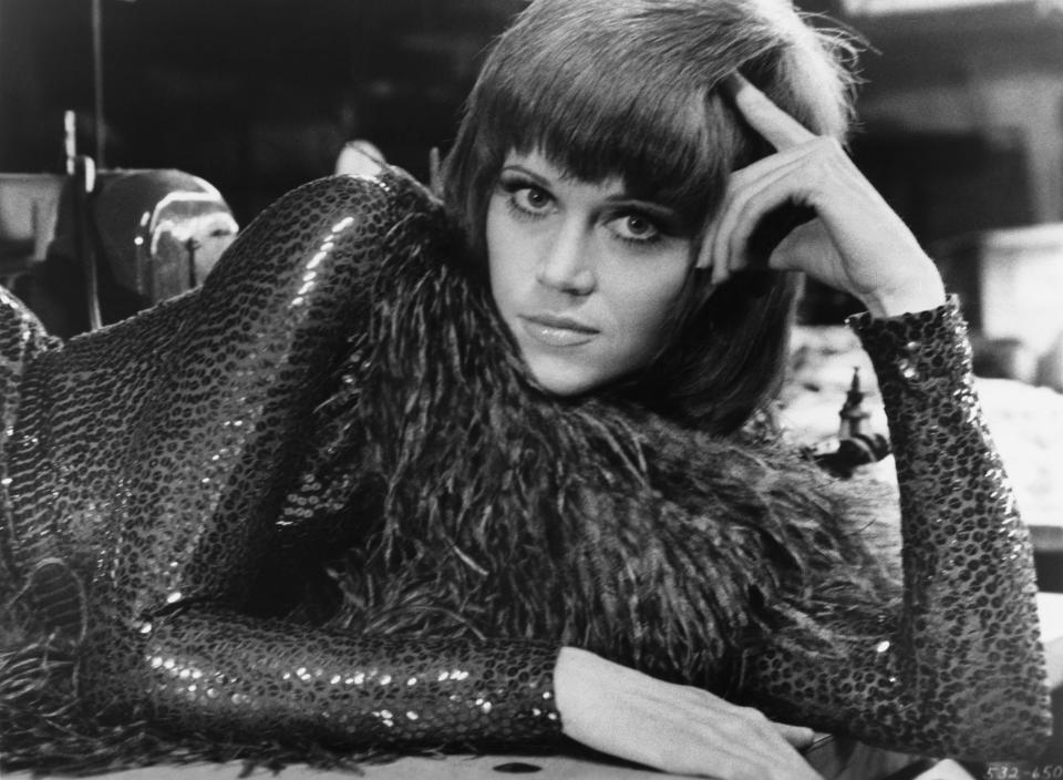 Jane Fonda portraying Bree Daniel in a publicity still for the 1971 film Klute. (Photo by �� John Springer Collection/CORBIS/Corbis via Getty Images)
