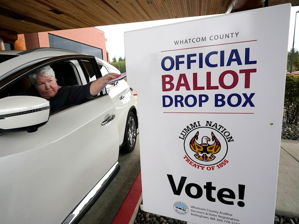 Voting early in Washington State (AP)