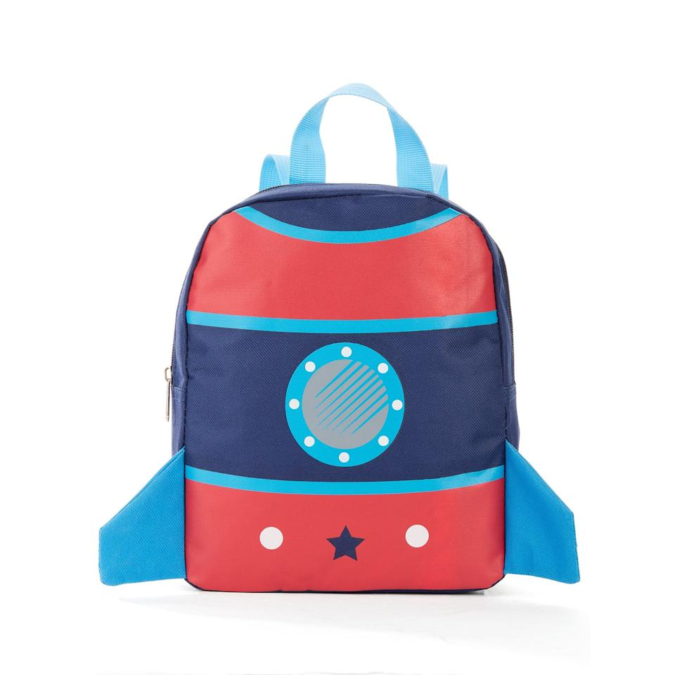 "<p>How adorable is this <a href=""https://www.popsugar.com/buy/Carried-Away-10-Rocket-Backpack-493040?p_name=Carried%20Away%2010%22%20Rocket%20Backpack&retailer=walmart.com&pid=493040&price=4&evar1=moms%3Aus&evar9=46653602&evar98=https%3A%2F%2Fwww.popsugar.com%2Ffamily%2Fphoto-gallery%2F46653602%2Fimage%2F46653607%2FCarried-Away-10-Rocket-Backpack&list1=shopping%2Cback%20to%20school%2Cwalmart%2Cbackpacks%2Cback%20to%20school%20shopping&prop13=api&pdata=1"" rel=""nofollow"" data-shoppable-link=""1"" target=""_blank"" class=""ga-track"" data-ga-category=""Related"" data-ga-label=""https://www.walmart.com/ip/Carried-Away-Boys-10-Rocket-Backpack/712740290"" data-ga-action=""In-Line Links"">Carried Away 10"" Rocket Backpack</a> ($4, originally $10)?</p>"
