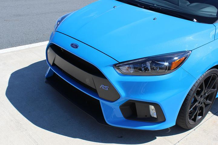 ford focus rs first drive grill