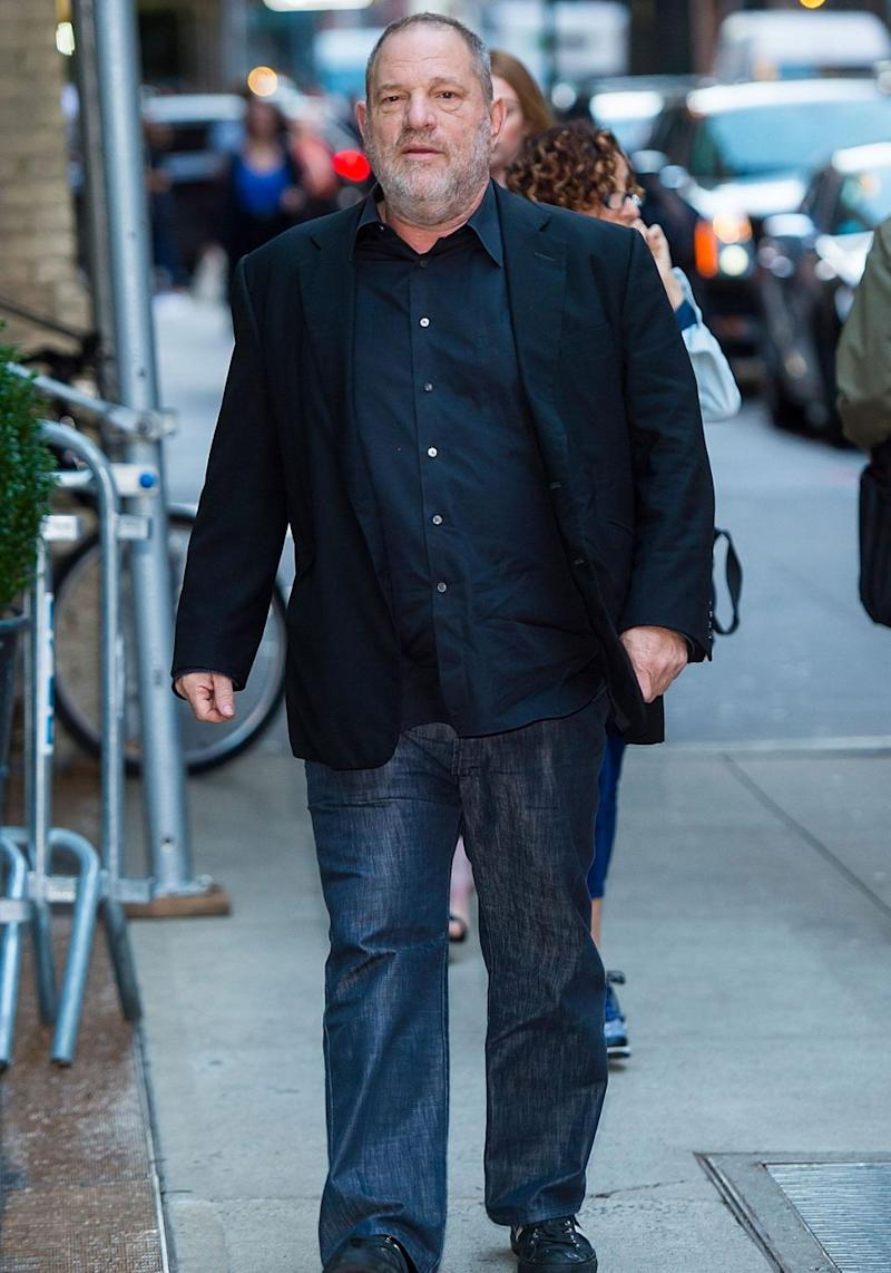 Harvey Weinstein has resigned from the board of The Weinstein Company - Weinstein pictured in New York last month. Source: Getty