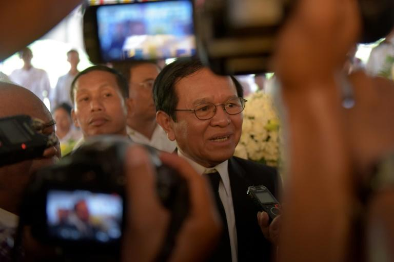 Cambodian opposition figure Kem Sokha was arrested in 2017 and charged with treason