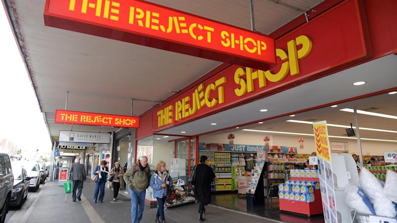 THE REJECT SHOP STOCK