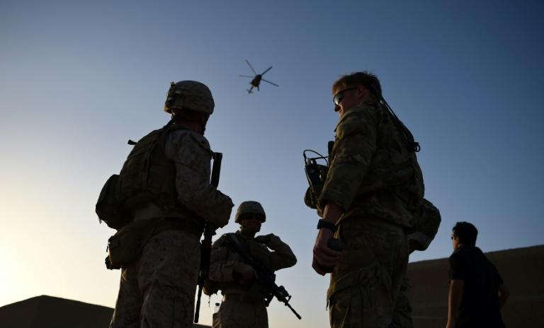 US troops have been in Aghanistan since invading to topple the Taliban from power in 2001, but Washington is seeking to drawdown its presence, as insurgent attacks continue