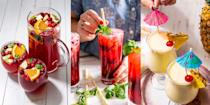 "<p>Whether you're interested in reducing your alcohol intake, or fancy switching your <a href=""https://www.delish.com/uk/cocktails-drinks/"" rel=""nofollow noopener"" target=""_blank"" data-ylk=""slk:drinks"" class=""link rapid-noclick-resp"">drinks</a> repertoire up, having a selection of go-to mocktail recipes is always a good idea. We're talking <a href=""https://www.delish.com/uk/cocktails-drinks/a33333249/blackberry-virgin-mojito-recipe/"" rel=""nofollow noopener"" target=""_blank"" data-ylk=""slk:Blackberry Virgin Mojitos"" class=""link rapid-noclick-resp"">Blackberry Virgin Mojitos</a>, <a href=""https://www.delish.com/uk/cocktails-drinks/a33333284/virgin-cranberry-basil-sangria-recipe/"" rel=""nofollow noopener"" target=""_blank"" data-ylk=""slk:Virgin Cranberry Basil Sangria"" class=""link rapid-noclick-resp"">Virgin Cranberry Basil Sangria</a> and glasses and glasses of <a href=""https://www.delish.com/uk/cocktails-drinks/a33333195/easy-homemade-lemonade-recipe/"" rel=""nofollow noopener"" target=""_blank"" data-ylk=""slk:Homemade Lemonade"" class=""link rapid-noclick-resp"">Homemade Lemonade</a> (it doesn't always need to replicate a tipple). </p><p>And so, if you're braving Dry Jan and need some non-alcoholic inspo, check out some of our favourite mocktail and lemonade recipes now (we've positive they won't disappoint). </p>"