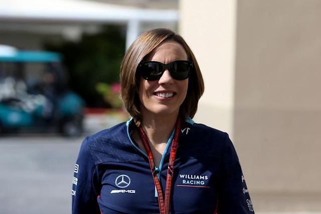 The Williams Formula 1 team is not up for sale, deputy team principal Claire Williams has insisted.