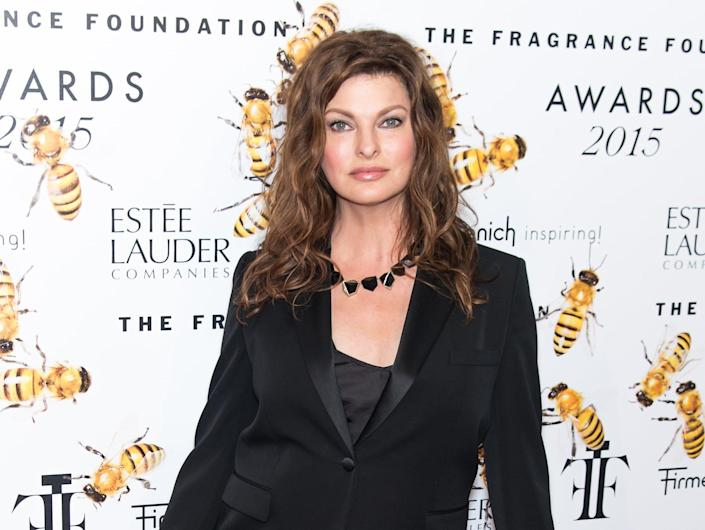 NEW YORK, NY - JUNE 17:  Model Linda Evangelista attends 2015 Fragrance Foundation Awards at Alice Tully Hall at Lincoln Center on June 17, 2015 in New York City.  (Photo by Gilbert Carrasquillo/FilmMagic)