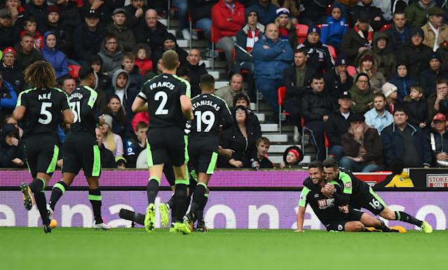 Andrew Surman scores his second in five games – after not scoring for us in the two campaigns prior. Bizarre but great.