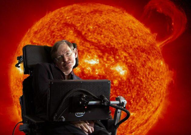 """Stephen Hawking in """"Into the Universe"""" on Discovery Channel"""