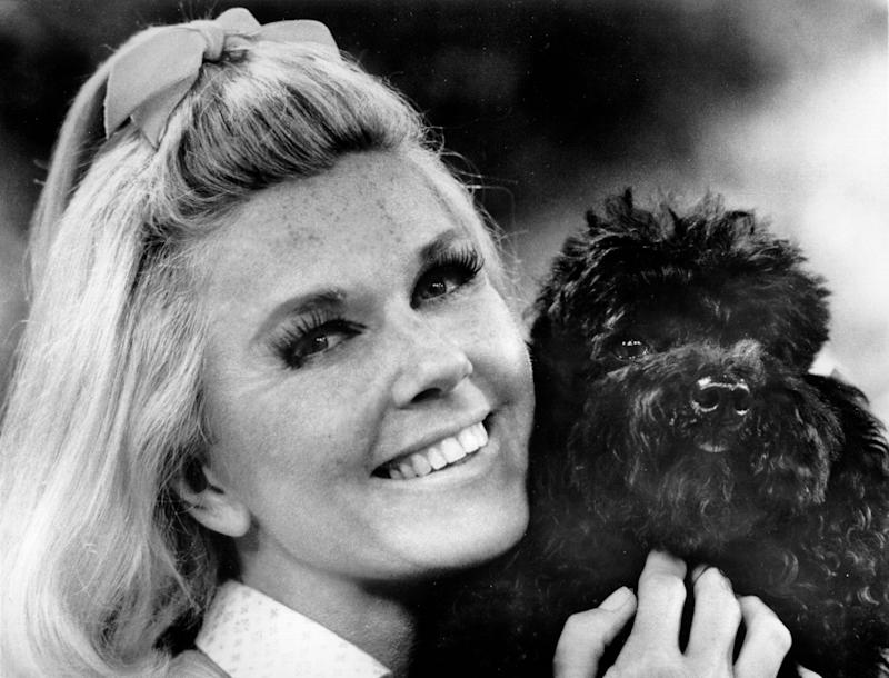 Doris Day pictured in 1970, wanted no commemoration of her death.