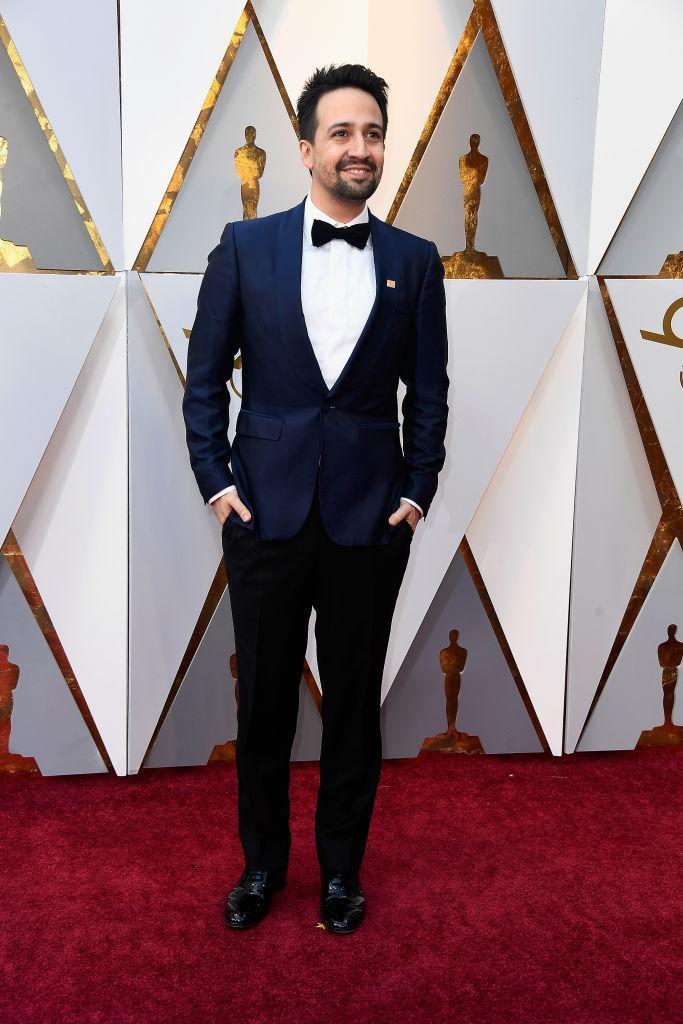 <p>Lin-Manuel Miranda attends the 90th Academy Awards in Hollywood, Calif., March 4, 2018. (Photo: Getty Images) </p>