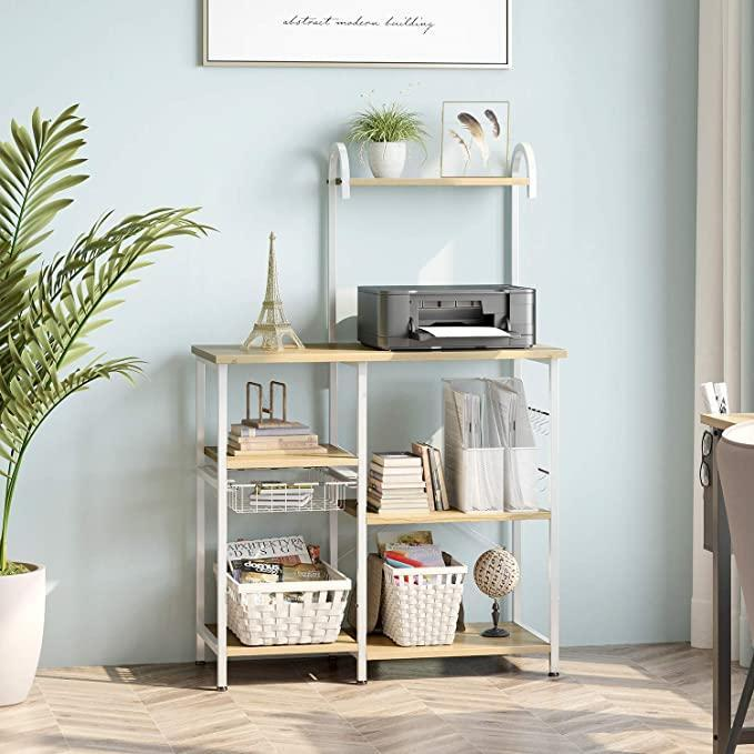 """<h2>ODK Kitchen Baker's Rack Utility Storage Shelf</h2><br>""""All NYC apartments come with sacrifices, and mine just happened to be that I have ZERO kitchen counter space. I love everything else about my small home, so I didn't dwell too much and quickly invested in this cheap little baker's cart. It was super easy to assemble and holds all of my dishware which is perfect. I love it and recommend it to anyone who needs some <a href=""""https://www.refinery29.com/en-us/best-home-organization-storage-products"""" rel=""""nofollow noopener"""" target=""""_blank"""" data-ylk=""""slk:extra kitchen storage"""" class=""""link rapid-noclick-resp"""">extra kitchen storage</a>."""" — <em>Alexandra Polk, Associate Market Lifestyle Writer</em><br><br><strong>ODK</strong> Kitchen Baker's Rack Utility Storage Shelf, $, available at <a href=""""https://amzn.to/3btlSPN"""" rel=""""nofollow noopener"""" target=""""_blank"""" data-ylk=""""slk:Amazon"""" class=""""link rapid-noclick-resp"""">Amazon</a>"""
