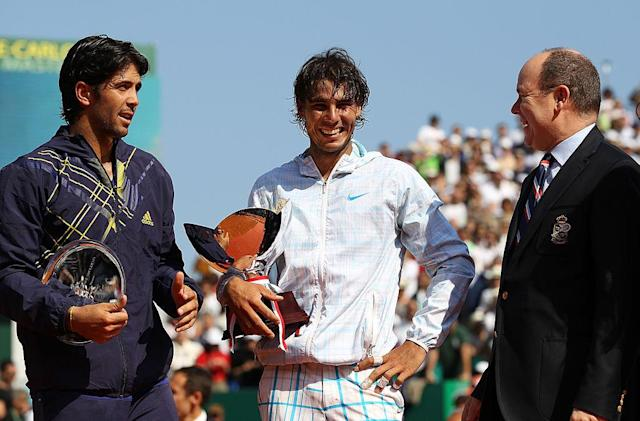 <p>Nel 2010 Nadal sconfigge Fernando Verdasco. (Photo by Julian Finney/Getty Images) </p>