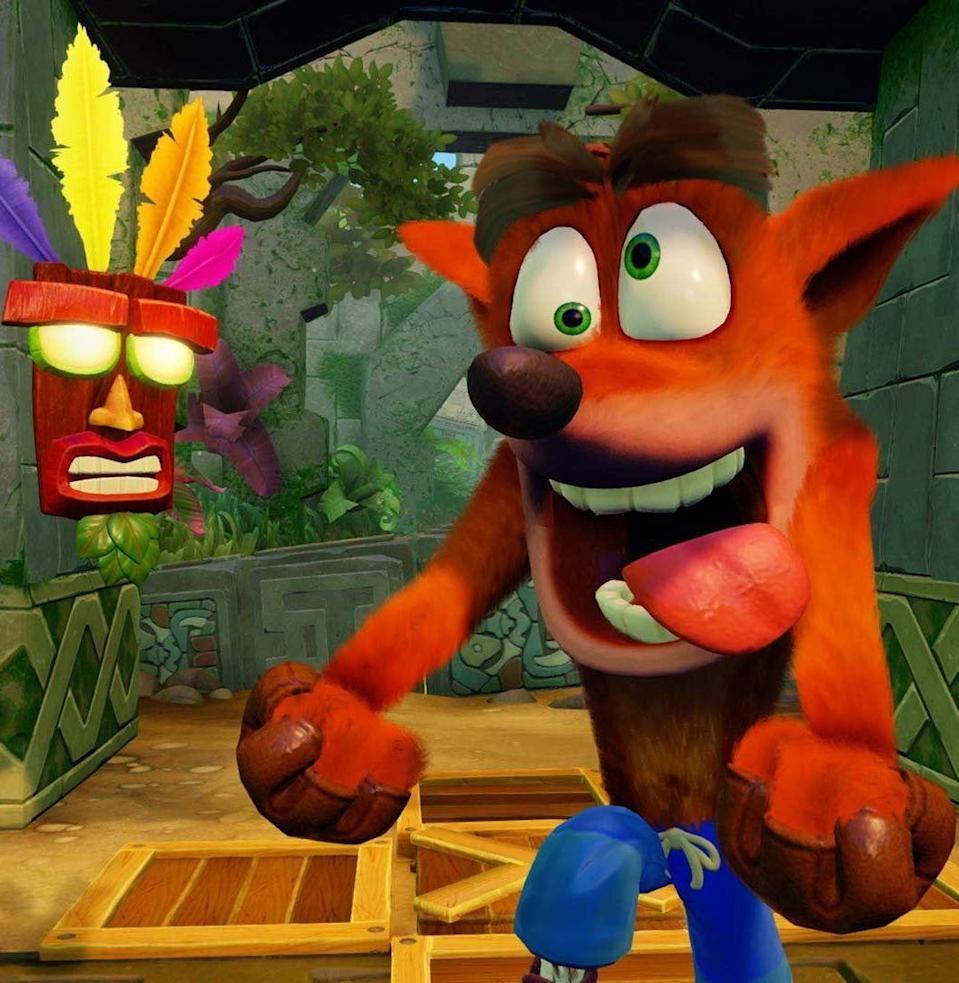 <p>How exactly has Crash Bandicoot endured as an all-timer of a mascot? (Fun fact: Crash was almost named Wizzy the Wombat.) Whatever the appeal of a genetically engineered bandicoot is, Crash has probably fronted a few of your favorite childhood titles. <em>Crash Bandicoot, Crash Team Racing, Crash Bash</em>. You've spent a lot of time with the guy, so that's worth something. What the hell even is a bandicoot? <em>—B.L.</em></p>