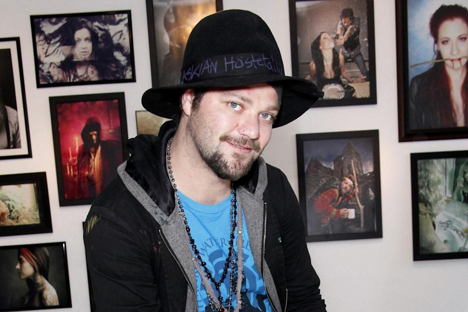 'Bam Margera and Friends' Art Exhibition at The James Oliver Gallery in Philadelphia, America - 07 Apr 2012