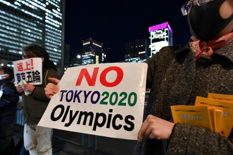 A small and motley crew of activists in Japan oppose the Olympic Games altogether and want to see it cancelled rather than postponed