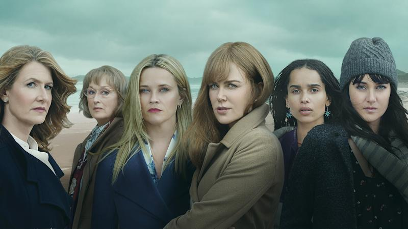 The second season of 'Big Little Lies' added Meryl Streep to its outstanding ensemble cast. (Credit: HBO)