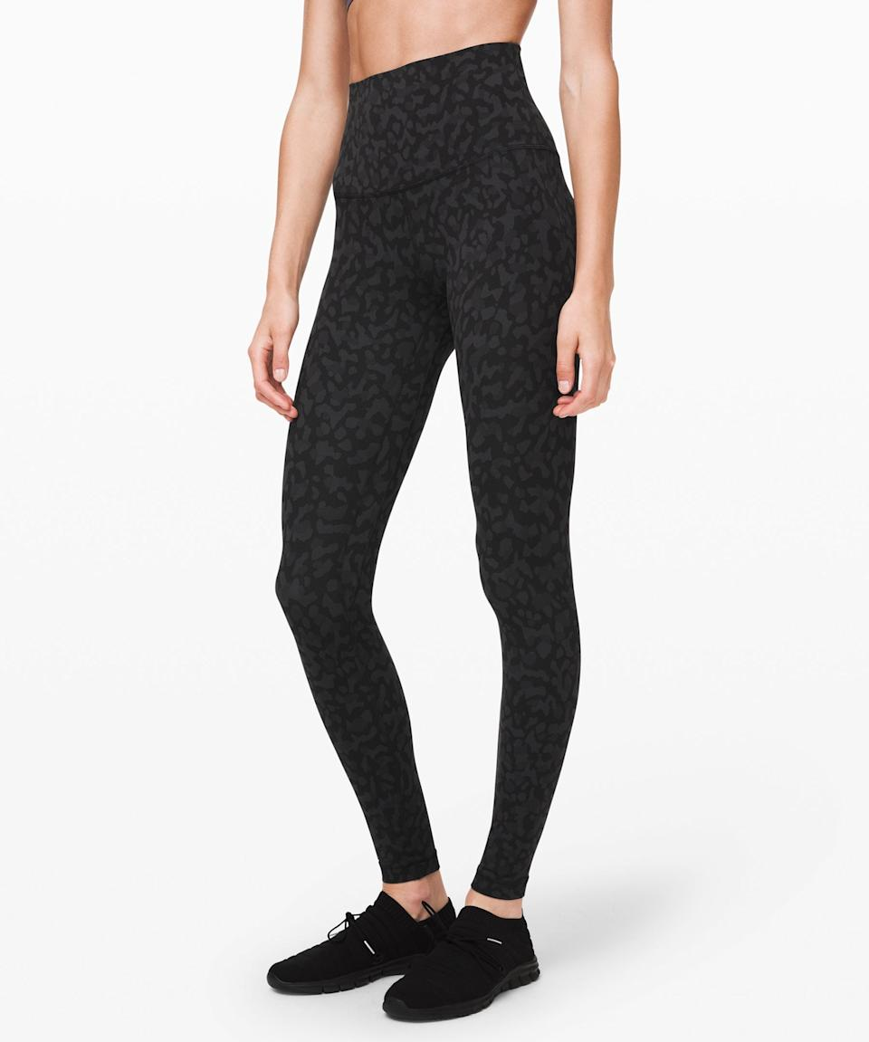 "<h2>Lululemon </h2><br><strong>The Deal:</strong> Although it's not technically pegged to Labor Day, Lululemon's <a href=""https://shop.lululemon.com/?CID=Google_All_PPC%2BBrand_US&gclid=Cj0KCQjwhb36BRCfARIsAKcXh6G7xASEvpRCUYObowe2_2eQldO8eDIw1nDiRNjxGcwmzWDlT-s8J30aAuhrEALw_wcB&gclsrc=aw.ds"" rel=""nofollow noopener"" target=""_blank"" data-ylk=""slk:We Made Too Much Sale"" class=""link rapid-noclick-resp"">We Made Too Much Sale</a> is always worth checking out. <br><br><strong>Our Pick:</strong> We love these sweat-wicking, stretchy leggings that are made for yogis. Great for newbies and those who've perfected their crow pose. <br><br><strong>lululemon</strong> lululemon Align Pant Super High-Rise 28"", $, available at <a href=""https://go.skimresources.com/?id=30283X879131&url=https%3A%2F%2Fshop.lululemon.com%2Fp%2Fwomen-pants%2FAlign-Pant-Super-Hi-Rise-28-MD%2F_%2Fprod9201226%3Fcolor%3D42628"" rel=""nofollow noopener"" target=""_blank"" data-ylk=""slk:lululemon"" class=""link rapid-noclick-resp"">lululemon</a>"