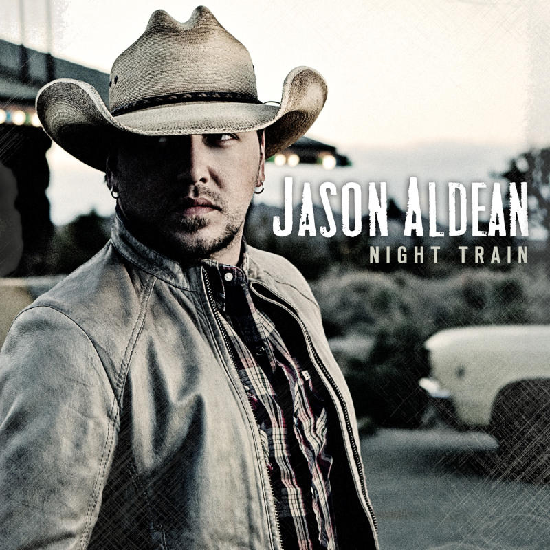 """This CD cover image released by Broken Bow records shows """"Night Train,"""" the latest release by Jason Aldean. (AP Photo/Broken Bow)"""