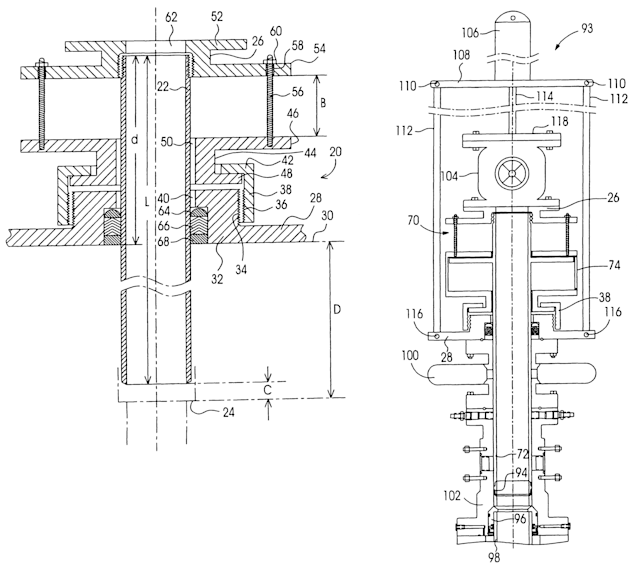 An image of Patent No. 6,179,053, the patent at issue in Oil States Energy Services Inc. v. Greene's Energy Group. Source: Google Patents