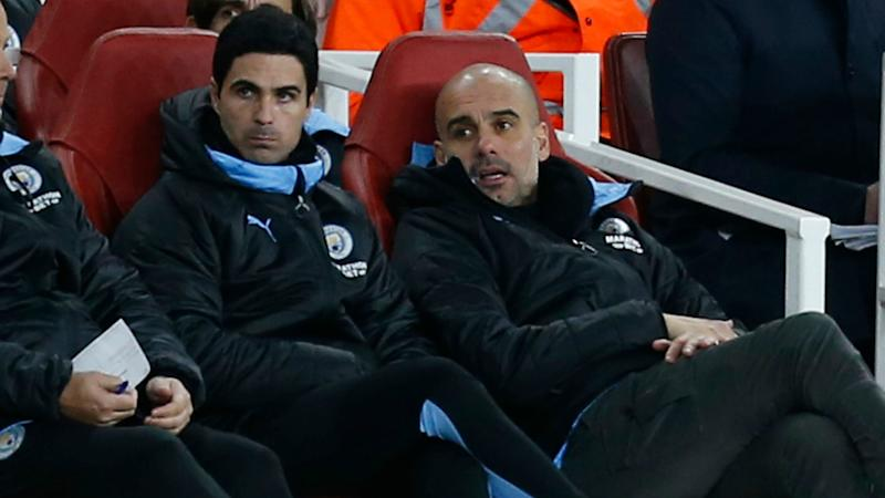 Arteta's Arsenal talks confirmed by Guardiola with Man City in the dark over assistant's future