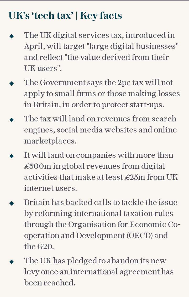 The UK's 'tech tax' | Key facts