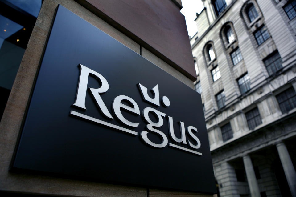 Regus, a work space Provider in the City of London. (Photo by: Newscast/Universal Images Group via Getty Images)
