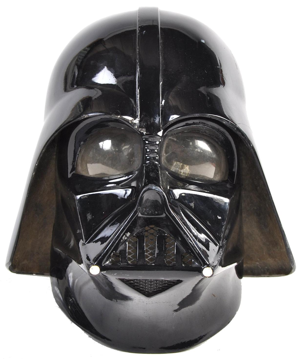 Darth Vader mask (East Bristol Auctions/eastbristol.co.uk)