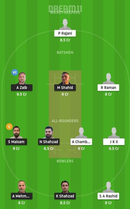 MAL vs OCC Dream11 Prediction Fantasy Cricket Tips Dream11 Team Portugal T10