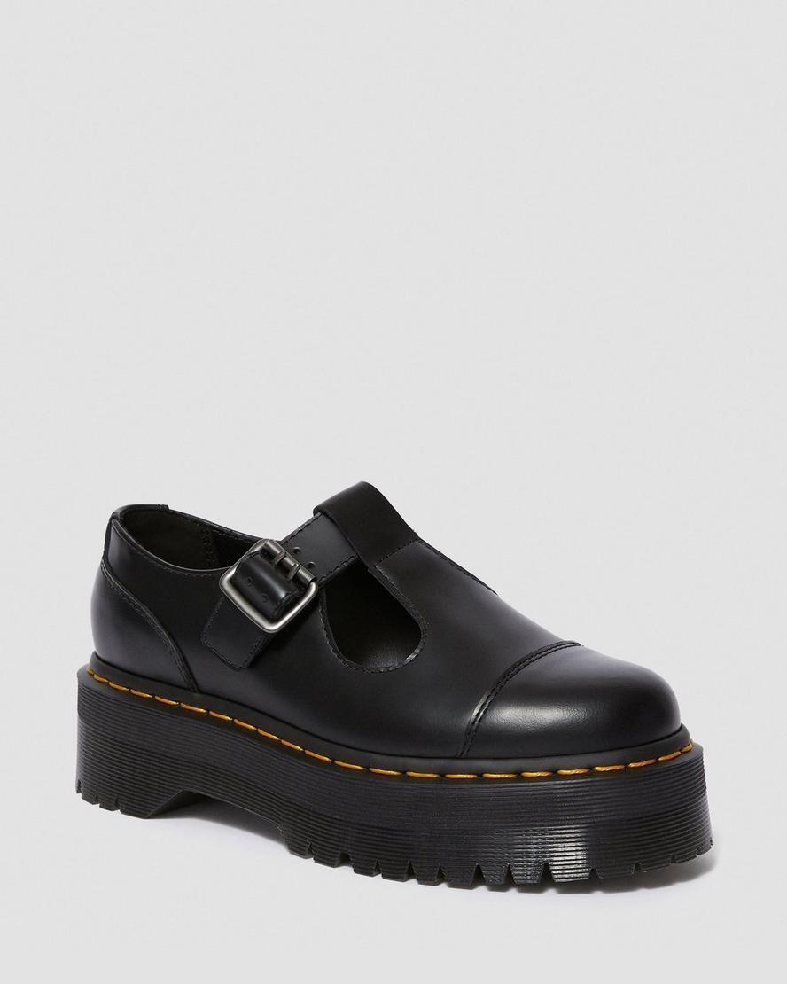 """<p><strong>Dr. Marten</strong></p><p>drmartens.com</p><p><strong>$150.00</strong></p><p><a href=""""https://go.redirectingat.com?id=74968X1596630&url=https%3A%2F%2Fwww.drmartens.com%2Fus%2Fen%2Fp%2F15727001&sref=https%3A%2F%2Fwww.marieclaire.com%2Ffashion%2Fg32185174%2Fugly-shoes%2F"""" rel=""""nofollow noopener"""" target=""""_blank"""" data-ylk=""""slk:Shop Now"""" class=""""link rapid-noclick-resp"""">Shop Now</a></p><p>This chunky platform mary jane style is a '90s staple from the ever-classic Dr. Marten. (Depeche Mode CD not included).</p>"""