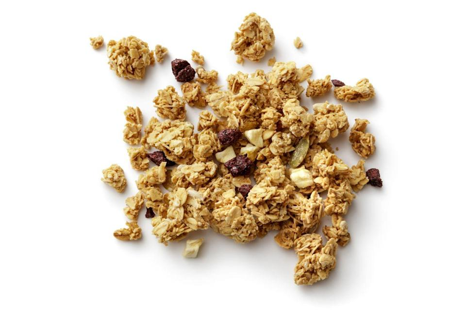 <p>Sift out the marketing and this is what you're left with: a breakfast cereal that's 20% sugar (compared to 17% for Coco Pops). It has more fibre, but so does a peanut butter sandwich. We know which we'd choose.</p>