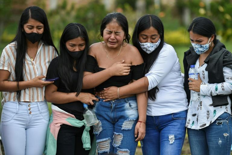 Three killed amid surge of violence in Colombia