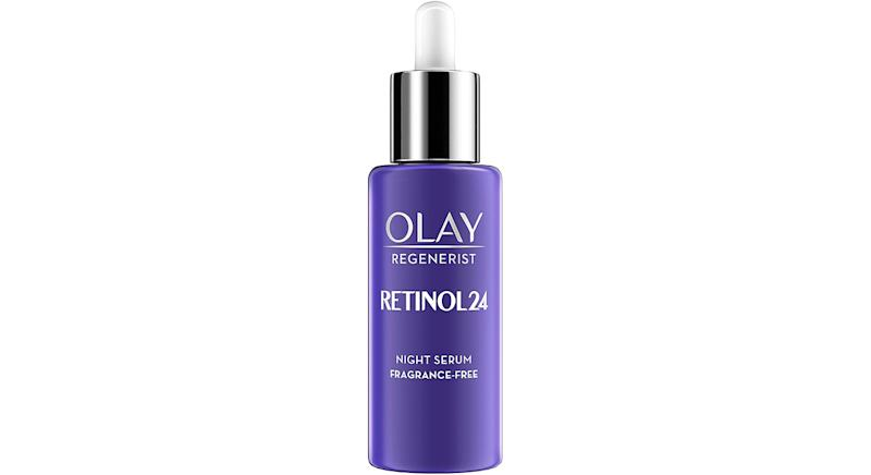 Olay Regenerist Retinol24 Night Serum Fragrance Free With Retinol and Vitamin B3