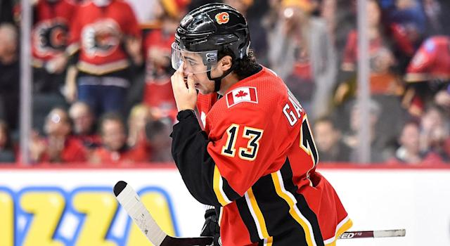 Things have not been going well for Johnny Gaudreau in 2019-20. (Photo by Brett Holmes/Icon Sportswire via Getty Images)