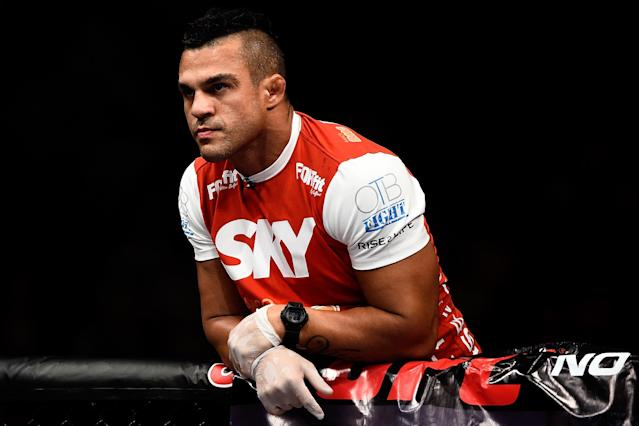 Vitor Belfort submits to blood, urine test from Nevada Athletic Commission