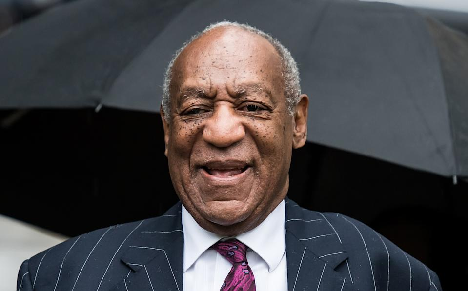 Actor/stand-up comedian Bill Cosby arrives for sentencing for his sexual assault trial at the Montgomery County Courthouse on September 25, 2018 in Norristown, Pennsylvania.  (Photo by Gilbert Carrasquillo/Getty Images)