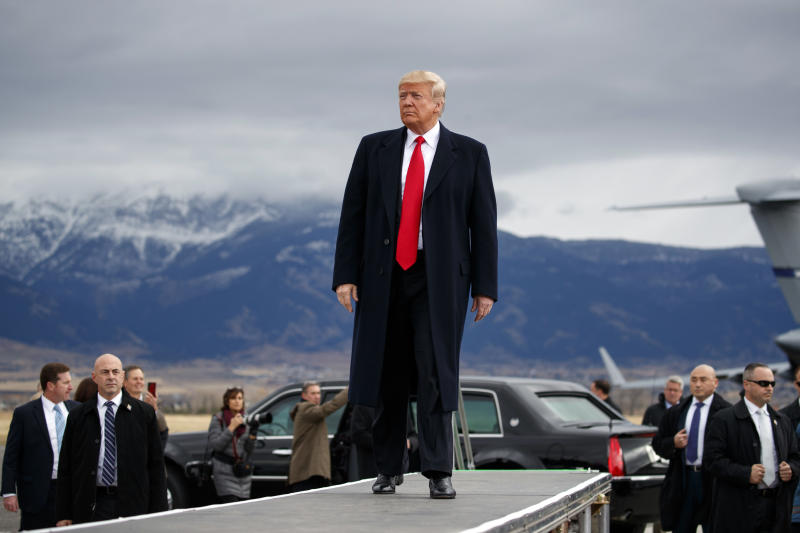 President Trump Holds Campaign Rally in Montana