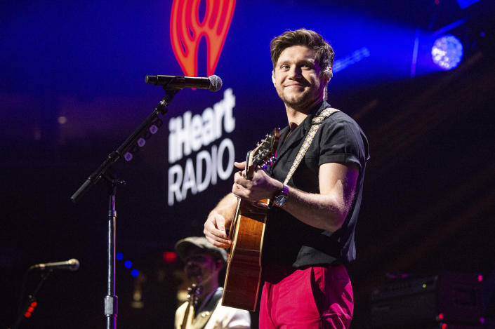 Niall Horan performs at Y100's Jingle Ball at BB&T Center on Sunday, Dec. 22, 2019, in Sunrise, Fla. (Photo by Amy Harris/Invision/AP)