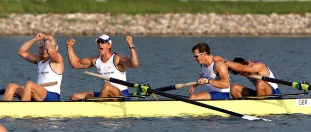 No Pinsent no problem as Great Britain won again in Beijing